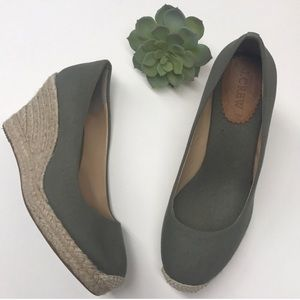 J.Crew-Wedge Espadrilles Camo Canvas-9